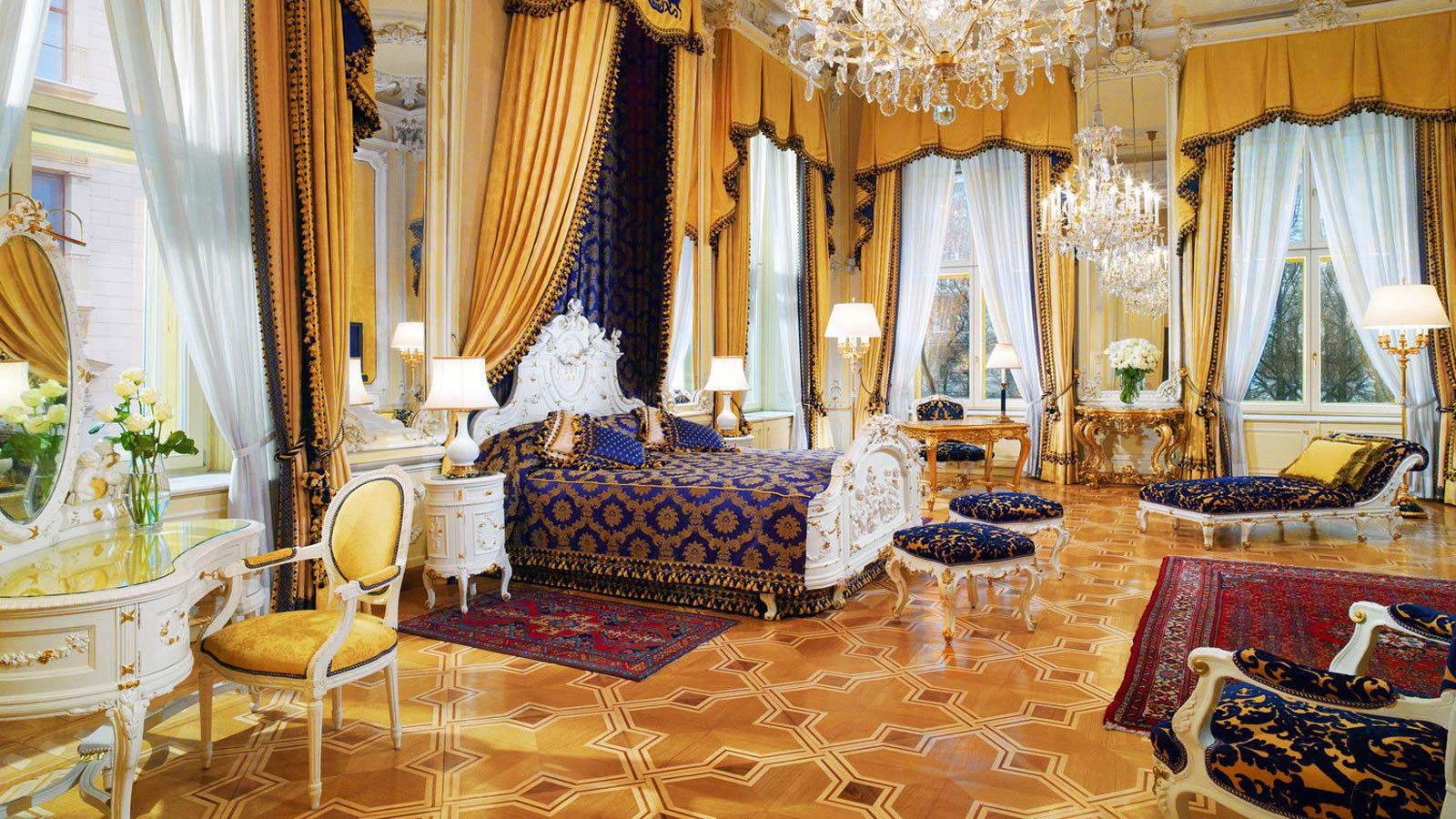 luxury hotel vienna discover the suites of hotel imperial. Black Bedroom Furniture Sets. Home Design Ideas