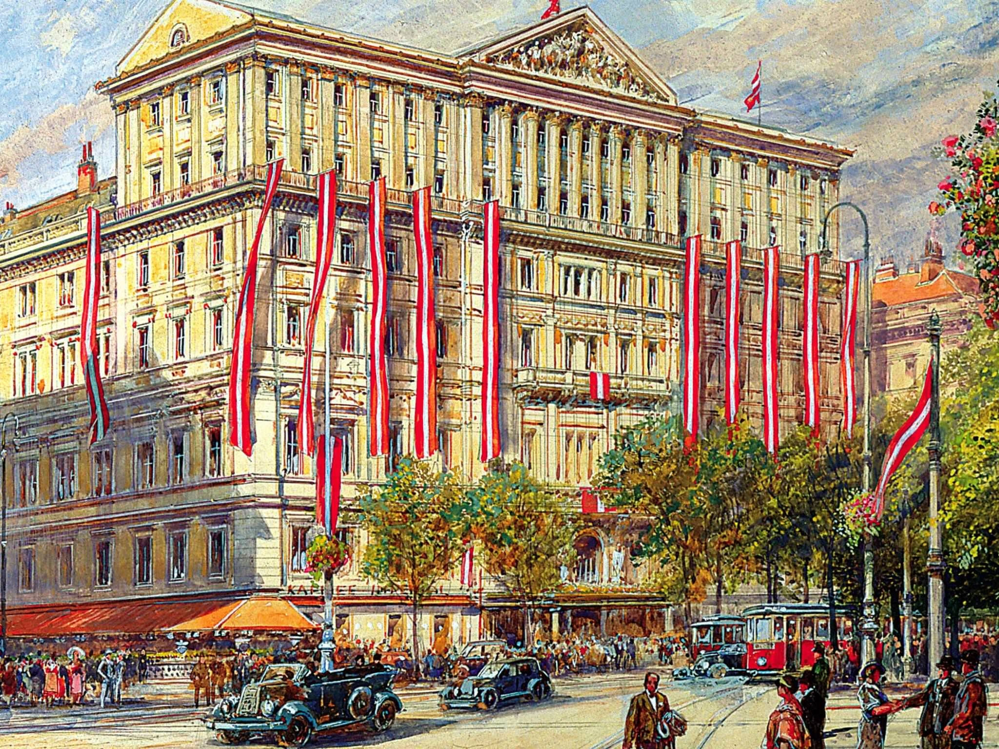 Imperial Hotel in Vienna