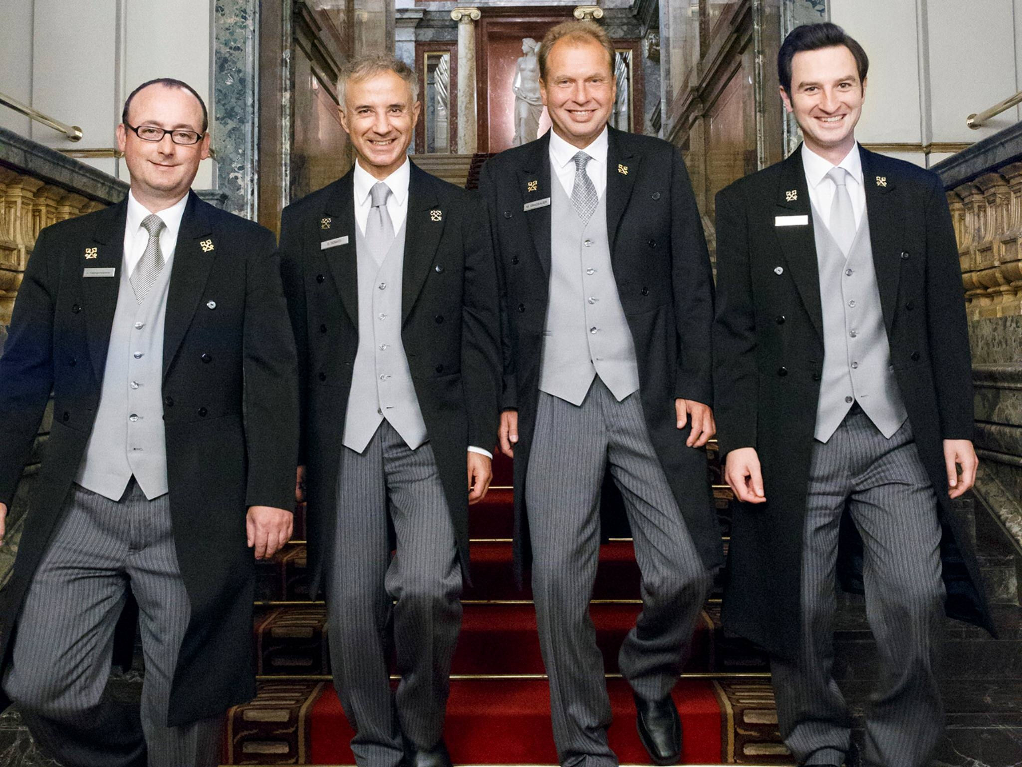 The Concierge at Hotel Imperial Vienna