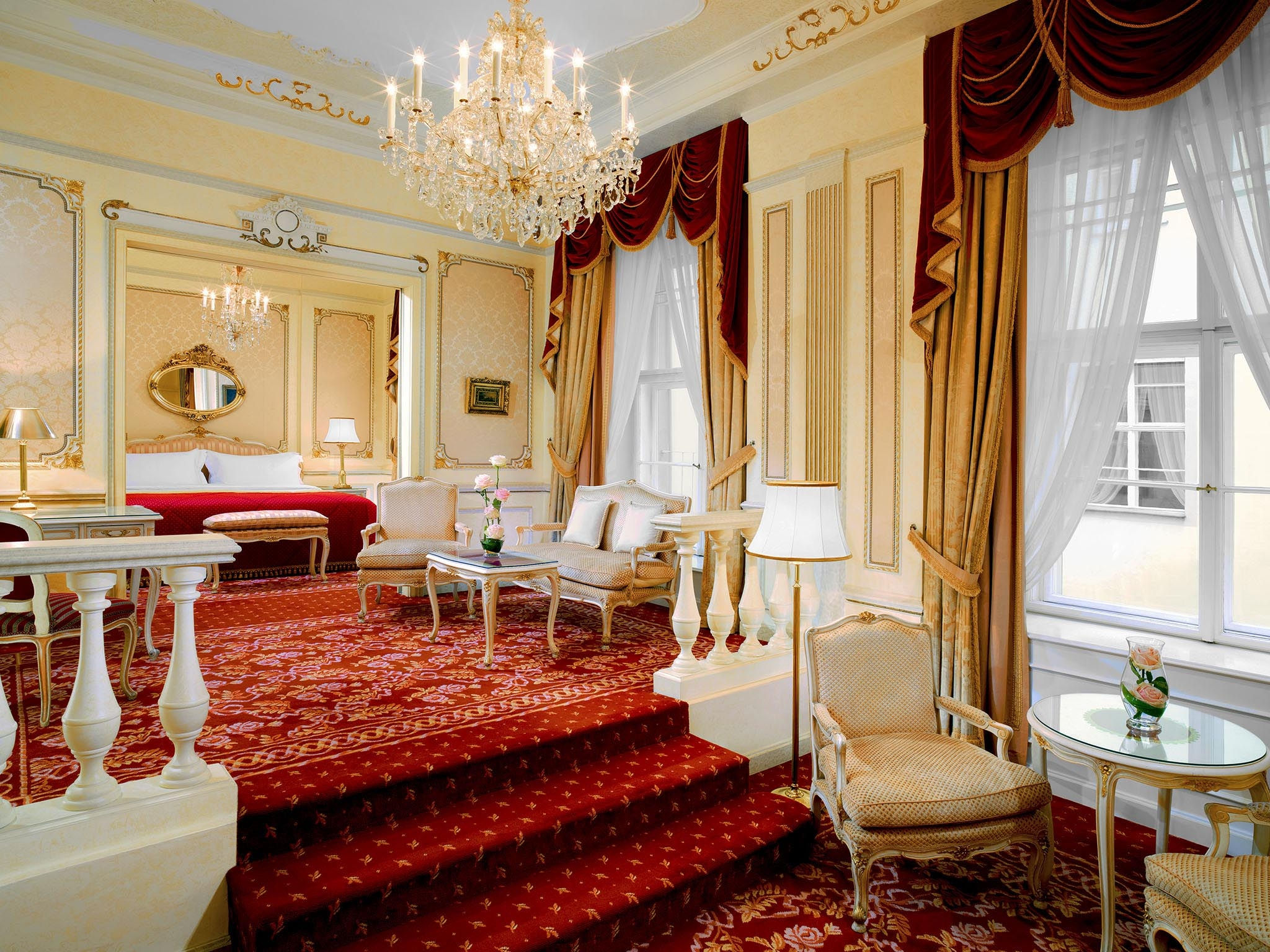 Maria Theresia Suite in Wiens Luxushotel Hotel Imperial